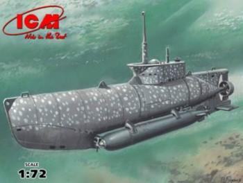 Dtsch. U-Boot Type XXVIIB Seehund (früh) 1:72