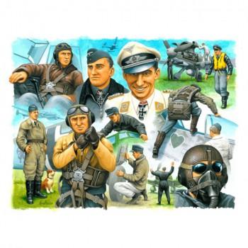 Piloten & Bodenpersonal Luftwaffe WWII