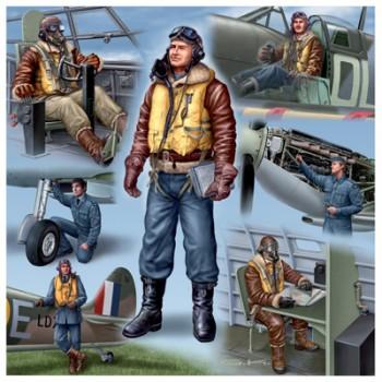 Piloten & Bodenpersonal RAF WWII