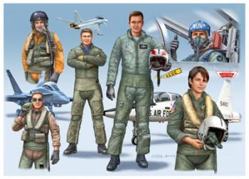 NATO Piloten (D/GB/USA) 1:72