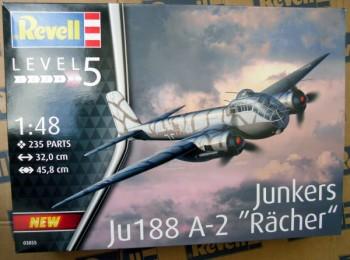 """Junkers Ju188 A-2 """"Rächer"""" Bausatz 1:48"""