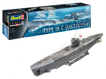 Deutsches U-Boot Typ IX C - U67 / U154 - 1:72