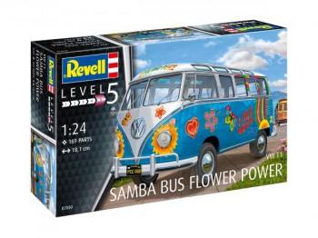 "VW Samba Bus T1 ""Flower Power"" 1:24"