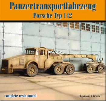 Porsche Typ 142 Panzertransporter - Resin Bausatz 1:35
