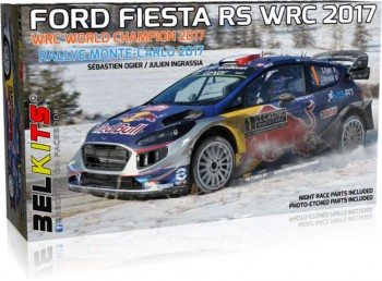 Ford Fiesta RS WRC 2017 Rally Monte Carlo -1:24