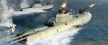 Soviet Navy G-5 Class Motor Torpedo Boat 1:35