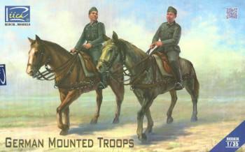 German Mounted Troops - 1:35