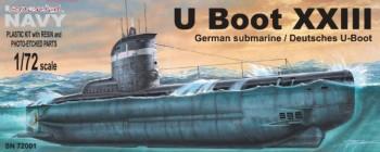 Dtsch. U-Boot Typ XXIII - 1:72