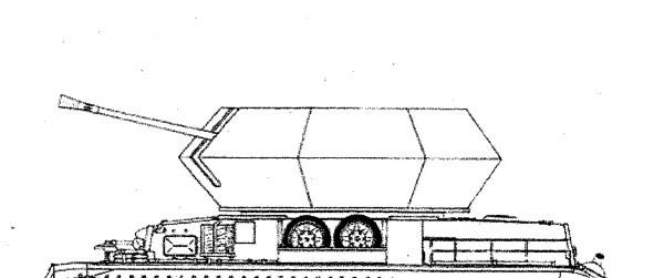 Umbausatz Ostwind II mit 3,7cm Flakzwilling M42 - 1:35