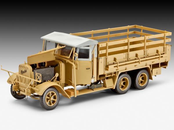 HP-Models Henschel Typ 33 D1 mit Kofferaufbau Resin-Bausatz 1:72