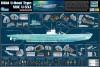 Deutsches U-Boot Typ VII C - U-552 - 1:48