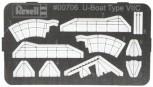 Ätzteile Set U-Boot VII C - 1:350