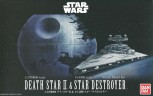 Death Star II + Imperial Star Destroyer - Bandai Bausatz
