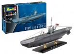 Deutsches U-Boot Typ II B U20  - 1:144