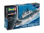HMS Invincible - Falkland War - 1:700