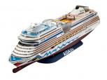 Kreuzfahrtschiff AIDA (blu, AIDAsol, AIDAmar, AIDAstella) - 1:400