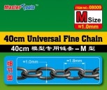 40cm Universal Fine Chain - M Size 1.0mm x 1.8mm