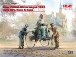 Benz Patent-Motorwagen 1886 & Bertha un ihr Buwe - 1:24