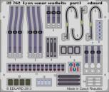 Ätzteile Lynx Mk.88 sonar Sicherheitsgurte - 1:32
