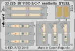 Sicherheitsgurte Bf110C-2/C7 - 1:32