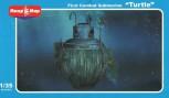 First Combat Submarine Turtle - 1:35
