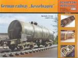 Deutscher 4 Achs Kesselwagen Bausatz 1:35