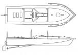 Fernlenk-Sprengboot Linse - 1:72