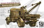 Kfz 100. Büssing-NAG 4500A Bilstein-Drehkran 3t