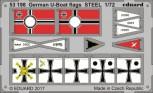 Deutsche U-Boot Flaggen 1:72