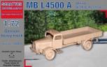 MB L4500 A Allrad Stahl Fahrerhaus