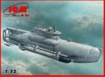Dtsch. U-Boot Type XXVIIB Seehund (spät) 1:72